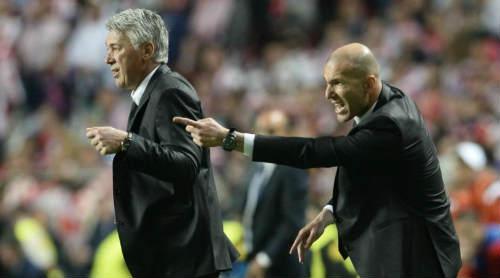 Zidane Punya Segala Hal  Yang Dibutuhkan Untuk Menjadi Seorang Pelatih - Ancelotti