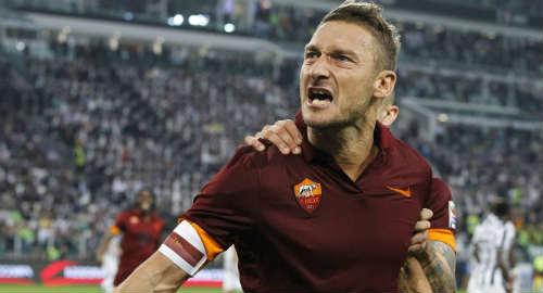 Prince of Rome, Fransesco Totti diperkirakan turun sebagai starter